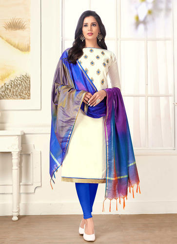 e9d7608521 Cotton Salwar Suit - Cotton Churidar Suits Manufacturer from Surat