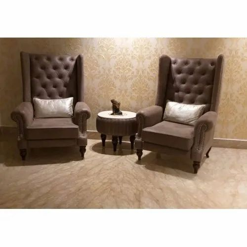 Leather Sofa Chair Set