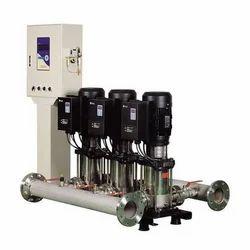 Inverter Built-in Booster Pumps System