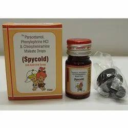 Paracetamol, Phenylephrine HCL And Chlorpheniramine Maleate Drops