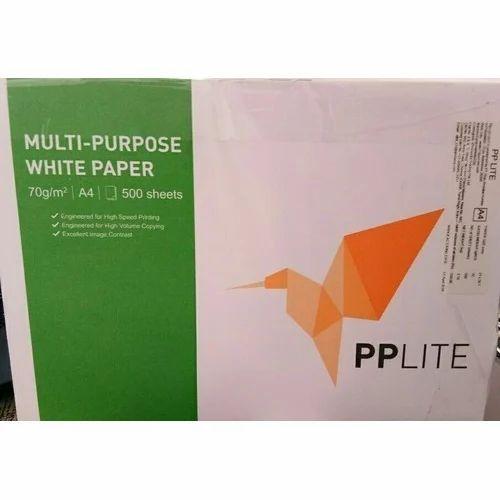 White PP Lite A4 Paper