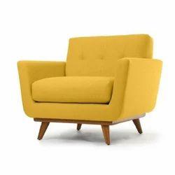 Yellow Single Seater Sofa
