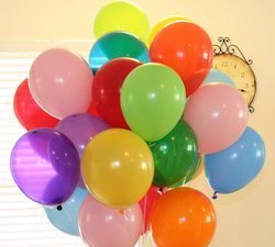 Rubber Party Balloons