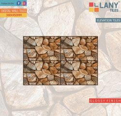 Glossy Elevation Wall Tiles 30x45cm