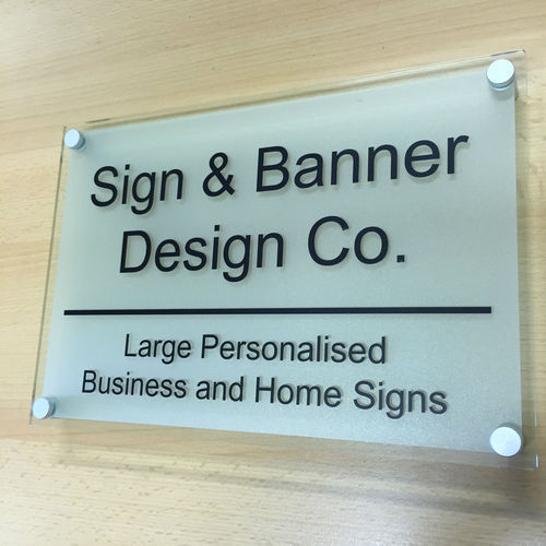 Glass Sign Board At Rs 250 /square Inch