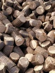 5 To 8 Cm Or 50 Mm To 80 Mm Bio Coal Briquettes, Round