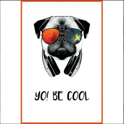 Be Cool Wall Art Poster