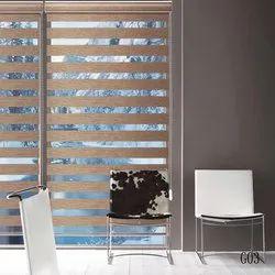 Horizontal Window Zebra Blinds, Thickness: 2-5 mm