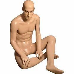 Sitting Male Dummies Mannequin