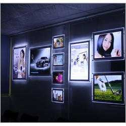 Crystal Hanging Frame Indoor LED Display
