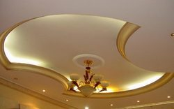 Residential Gypsum False Ceiling