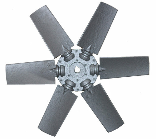 Industrial Aluminum Fan Blades At Rs 4000 Number