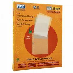 SP201 Sheet Protector (Topnotch Pockets) A4