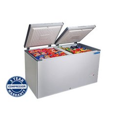 Blue star White Hard Top Chest Freezers, Manual Defrost, Capacity: 100 L
