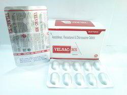 Aceclofenac Paracetamol And Chlorzoxazone Tablet