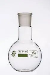 Borosilicate Flat Bottom Flask, Capacity: 10ml