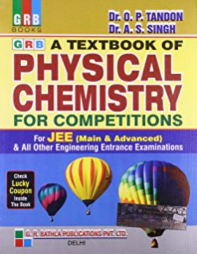 Physical Chemistry For Competition For Iit Jee Book