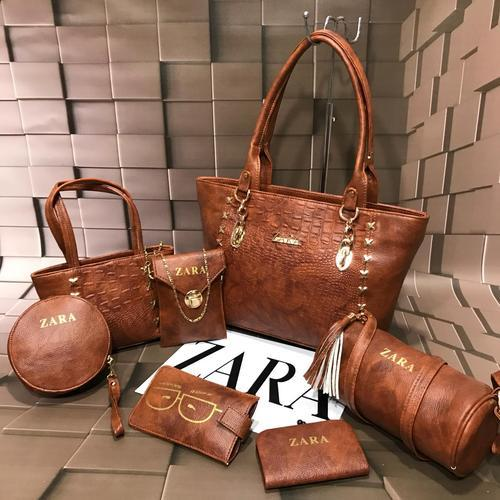 aa58c8b390 Zara 7 Piece Combo Ladies Fashion Bags at Rs 1200  set