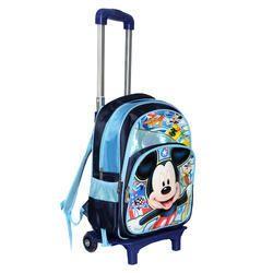 49fa8b04615d Polyester Blue Stylish Unique Design Children s Trolley Bag