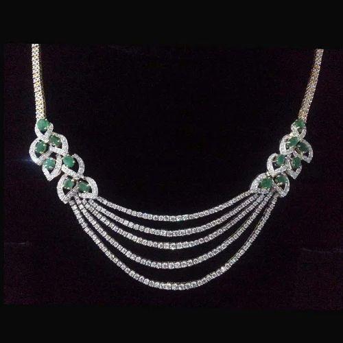 49e4095a8 Designer Diamond Necklace at Rs 350000 /piece | Diamond Necklace ...
