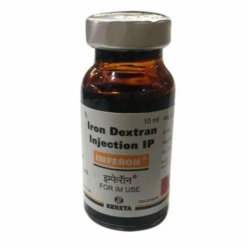 Allopathic 10 ML Iron Dextron Imferon Veterinary ...