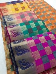 HAVY COTTON SILK SAREE