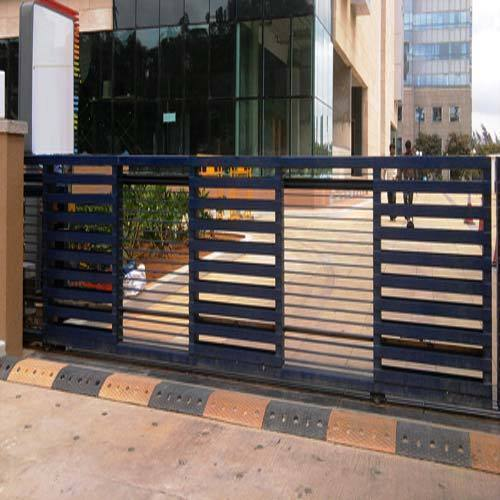 Ms sliding gate 50 hz rs 700 square feet jaya - Sliding main gate design for home ...