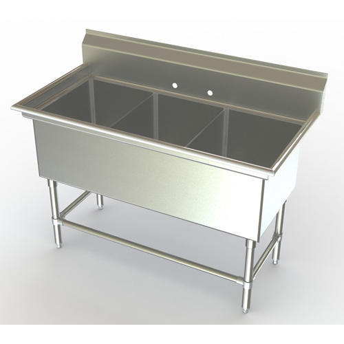 ss commercial kitchen sink ss kitchen sink rh indiamart com commercial stainless steel kitchen utility sink with drainboard commercial stainless steel kitchen utility sink - 30 wide