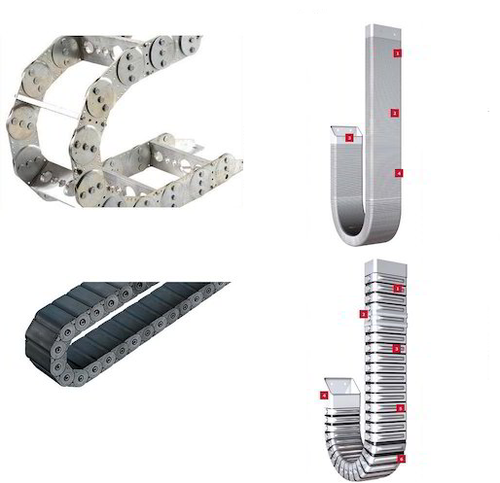 Metallic / Plastic Cable Drag Chain