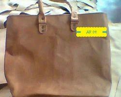 Brown Casual Wear AR 09 Ladies Handbag