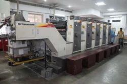 mitsubishin 1F five colou offset printing machine for sale