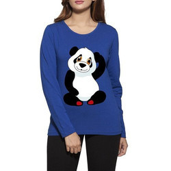 Panda Women's Printed T-Shirts