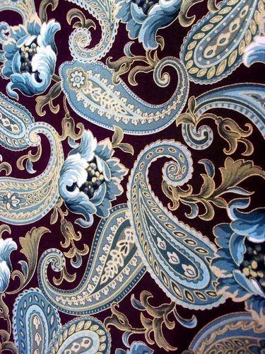 Designer Paisley Print Fabric At Rs 140 Meter Ngo