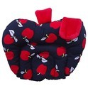 Apple Shape Born Baby Cotton Soft Fabric Musterd Seeds Rai Pillow