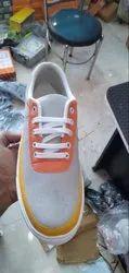 Men Solid Canvas Shoes, No
