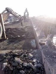 On Site Concrete Demolition Work Service