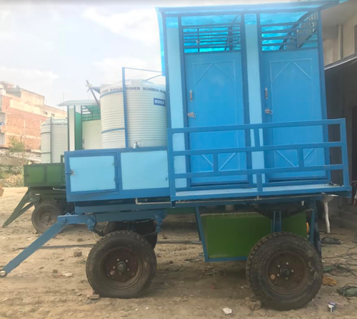 Mobile Toilet for Swimming Pool