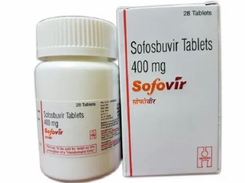 Sofovir Sofosbuvir 400 mg Tablet
