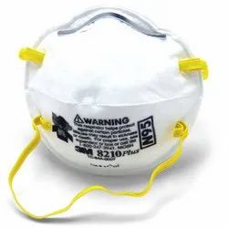 Reusable 3M 8210 Particulate Respirator Mask, Number of Layers: 3 Layers