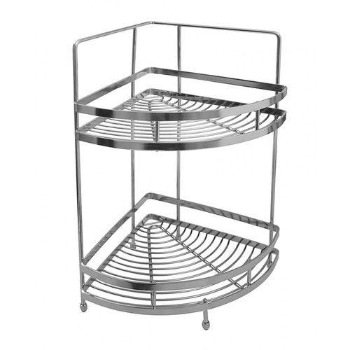 Stainless Steel Corner Shelf Kitchen Flooring Ideas For Kitchen