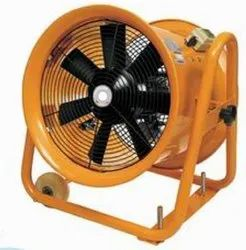 2200 W 8.5 A Fume Exhaust Fan Portable 60, For Industrial, Size: 600 Mm