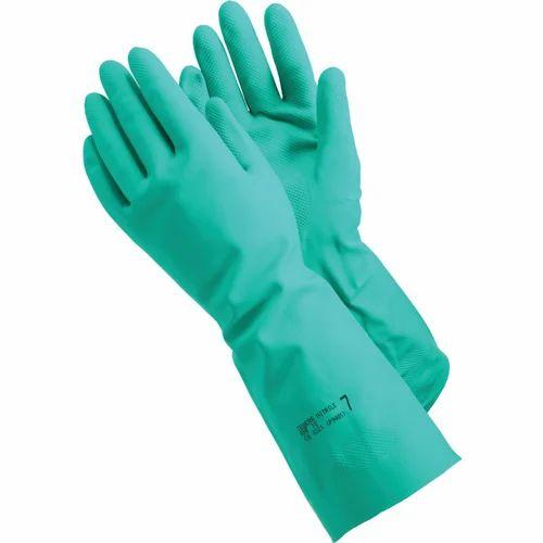 Nitrile Hand Gloves Green Nitrile Gloves Manufacturer