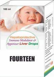 Hepatoprotective Immuno Modulator & Appetizer Liver Drops