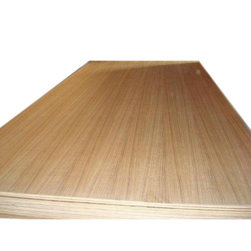 Dark Brown 14 mm Teak Veneer Plywood Board