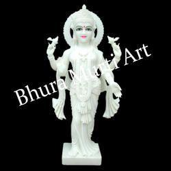 Laxmi White Marble Statue