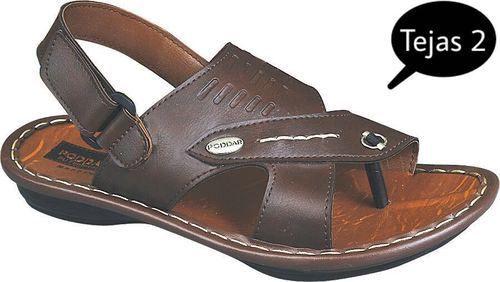 a3b5e6410db Multicolor Formal Poddar Mens PU Sandals