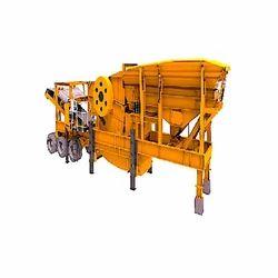 REW Mild Steel Mobile Crushing Plant