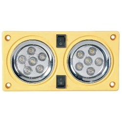 Double Light LED 255 CR/Black