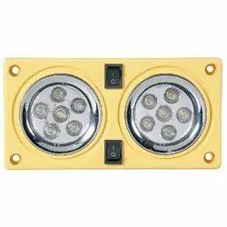 Double Light LED 255 CR/Black