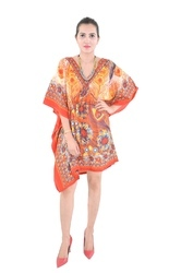 Printed Beachwear Cotton Ladies Kaftan